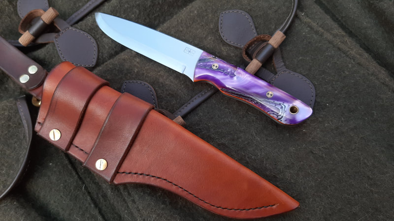 Ghillie XL Purple Ripple RWL-34 Stainless